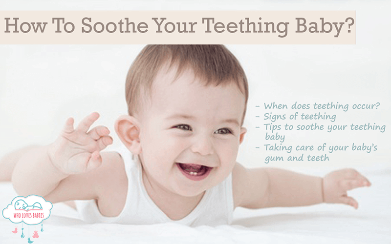 How To Soothe Your Teething Baby?