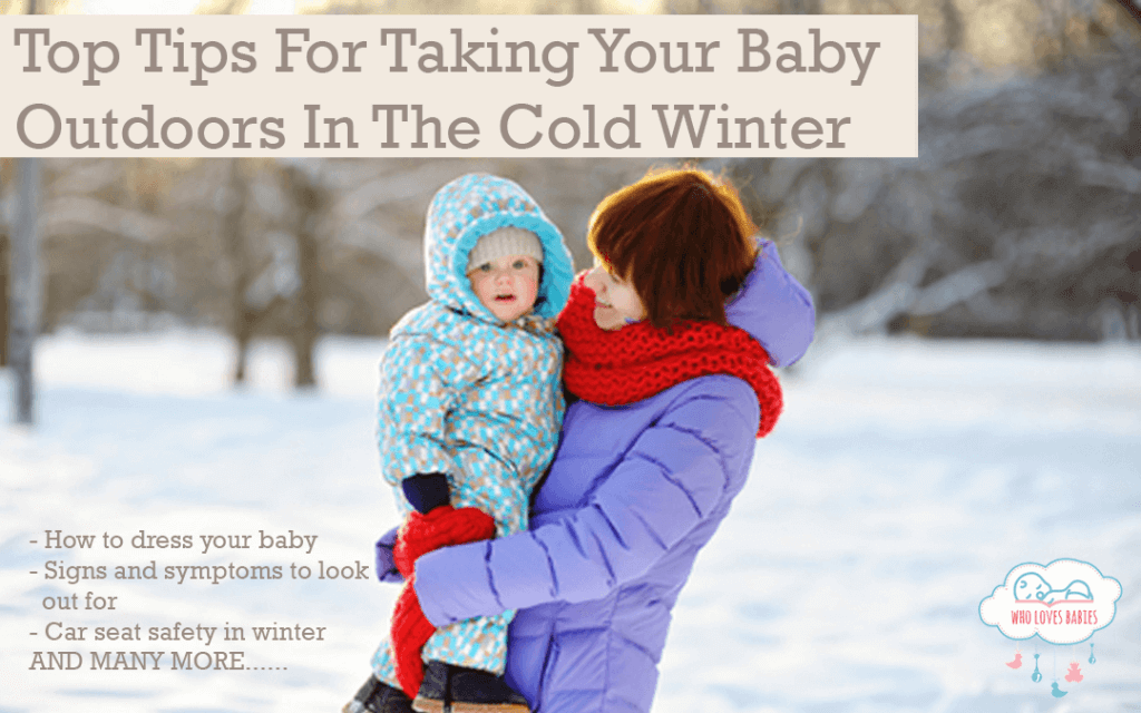 Top Tips For Taking Your Baby Outdoors In Winter