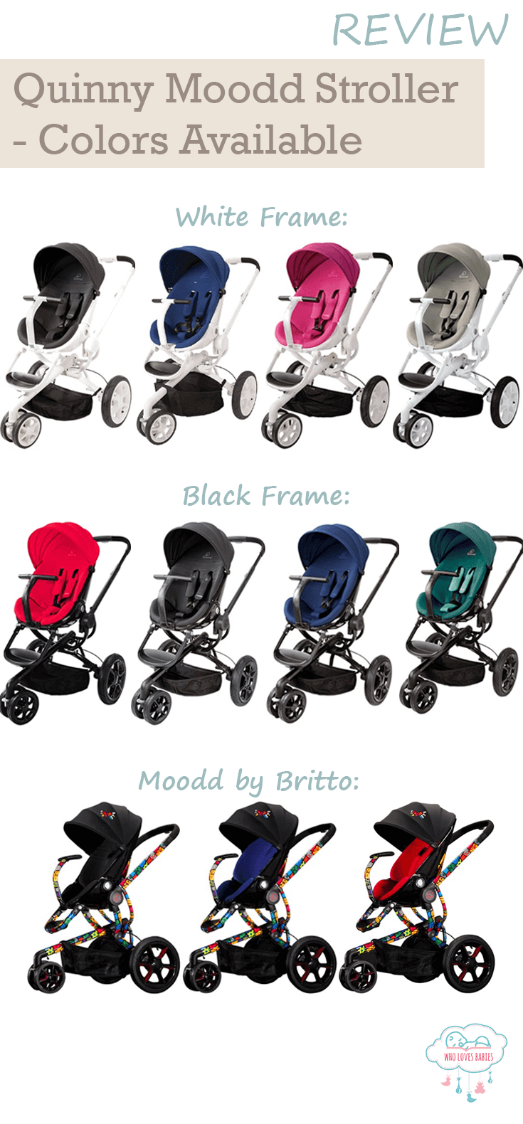 Quinny Moodd Travel System Color Selection