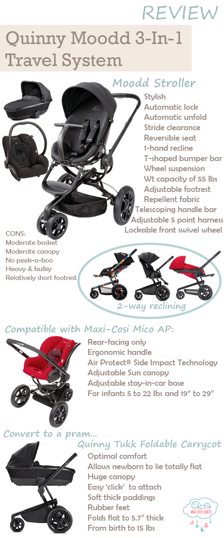 Quinny Moodd Travel System Review Summary