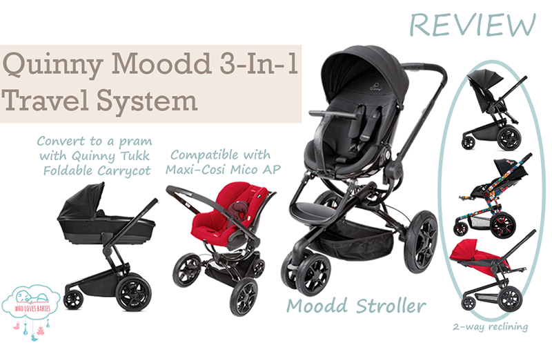 Quinny Moodd Stroller Travel System Review