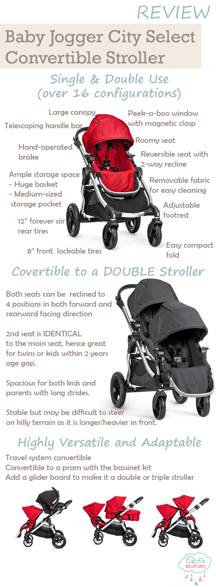 What We Like About The Baby Jogger City Select
