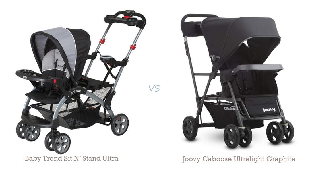 Best sit and stand strollers baby trend vs joovy