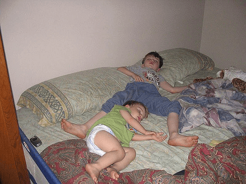 Co-Sleeping With Older Sibling