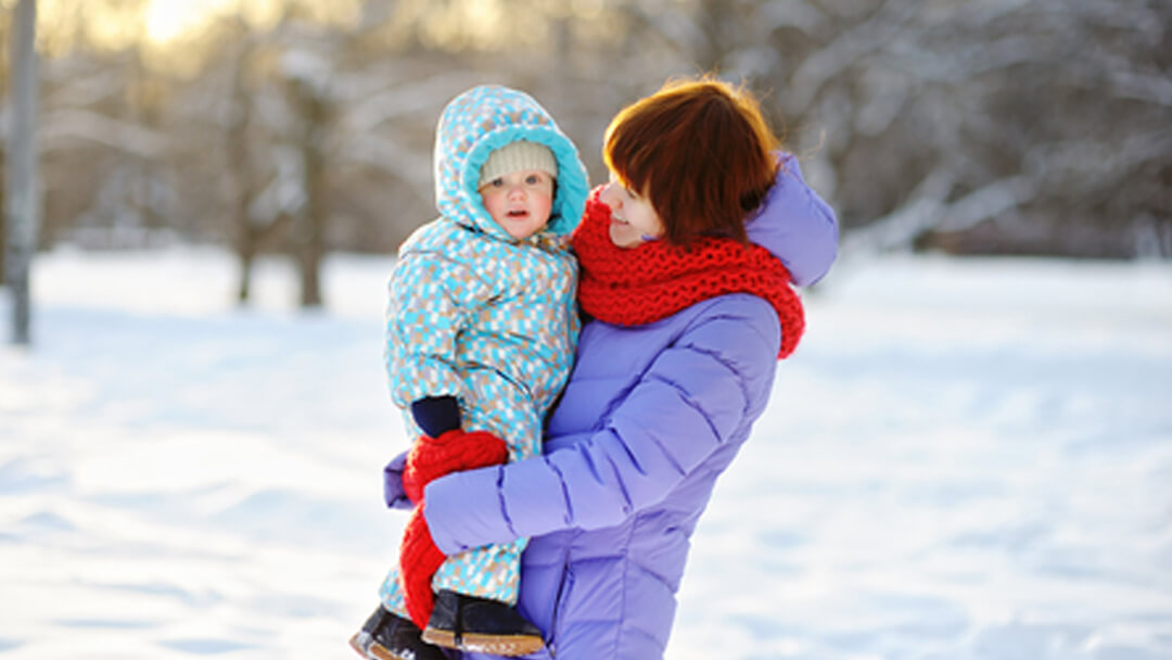 Cold Winter? No Problem:) Bring Your Baby Outdoors With
