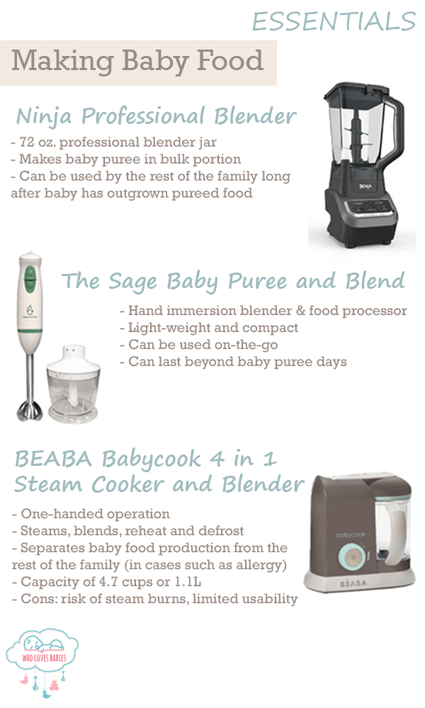 Feeding Must Haves Baby Food Maker