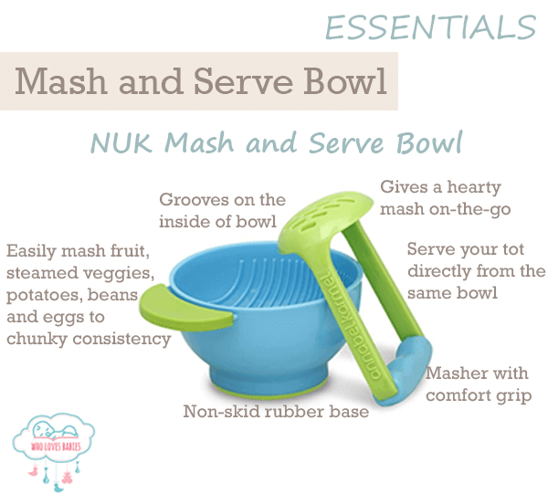 Feeding Must-Haves Mash and Serve Bowl