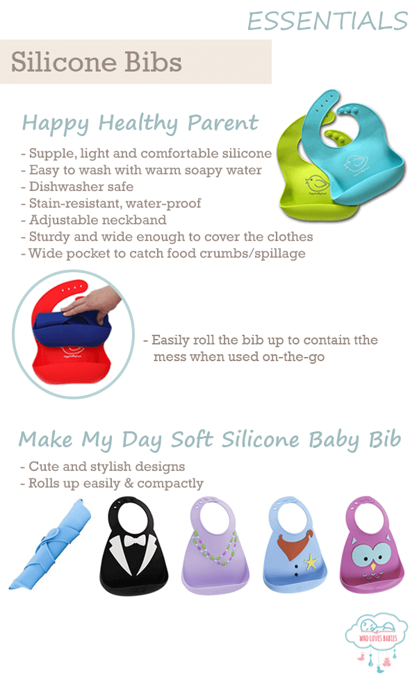 Feeding Must-Haves Silicone Bib