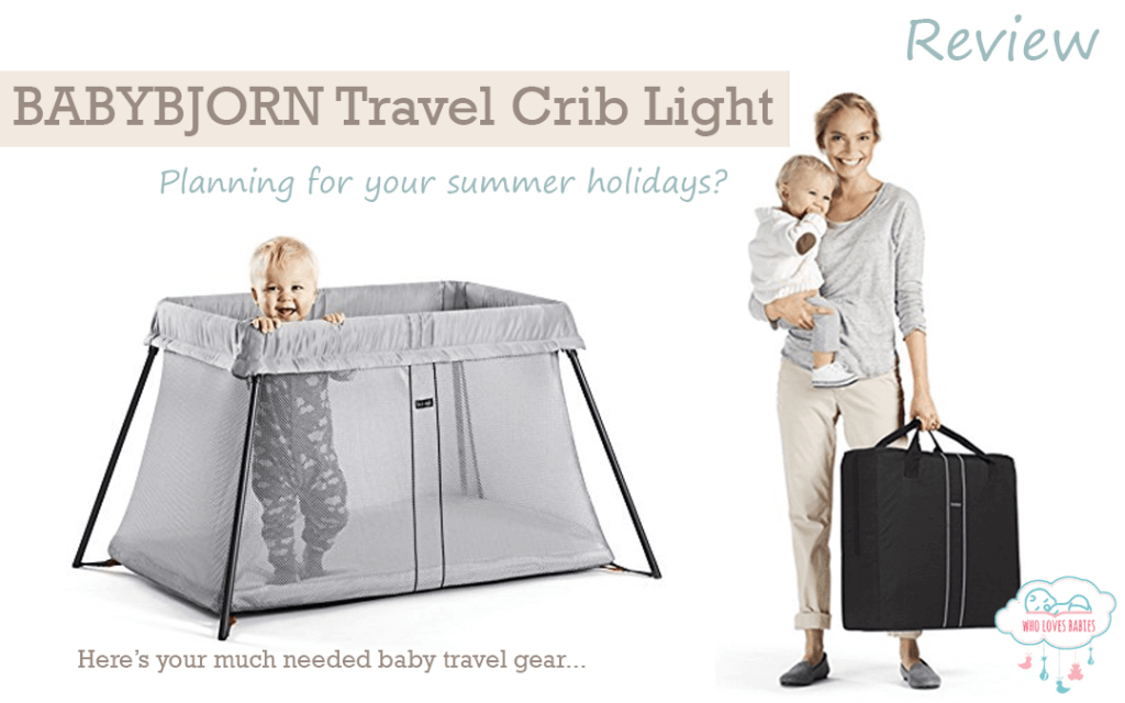 bjorn portable yard cribs rn amazon and fold shop carrying case play babybj plus soft easy pen from mattress light with silver travel babybjorn crib