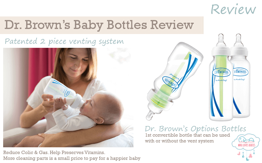 Dr. Brown's Natural Flow Baby Bottles Review