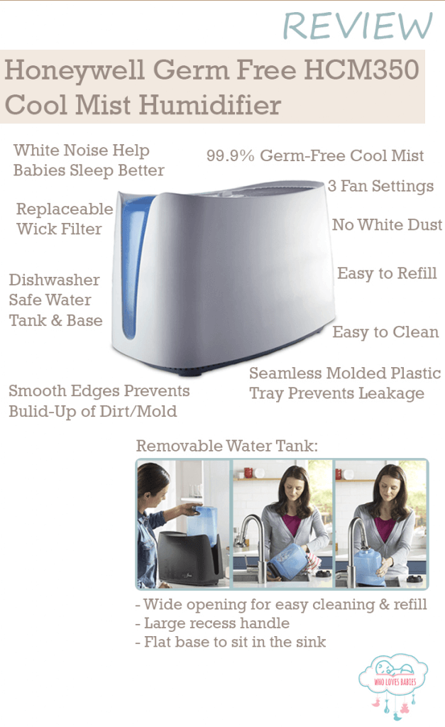 Honeywell Germ Free HCM350 Cool Mist Humidifier Review