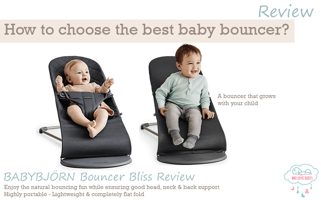How to Choose the Best Baby Bouncer for Your Baby? BABYBJÖRN Bouncer Bliss Review