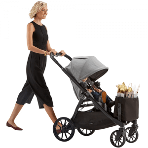 City Select LUX Shopping Tote on Stroller