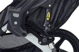 Bob revolution duallie double stroller suspension system