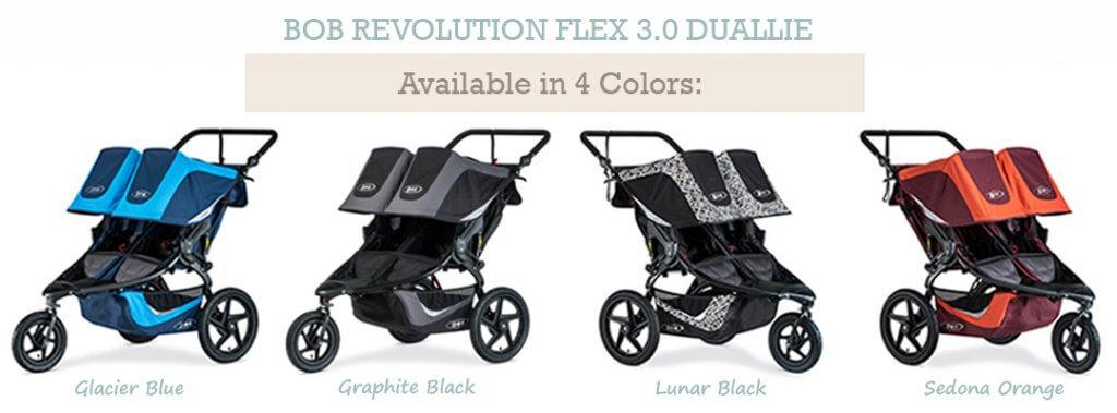 bob revolution flex duallie 4 color