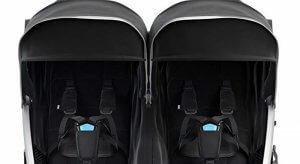 thule urban glide 2 structured padded seats and 5 point harnessseats