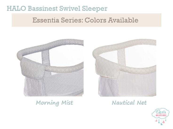 halo co sleeper bassinet colors